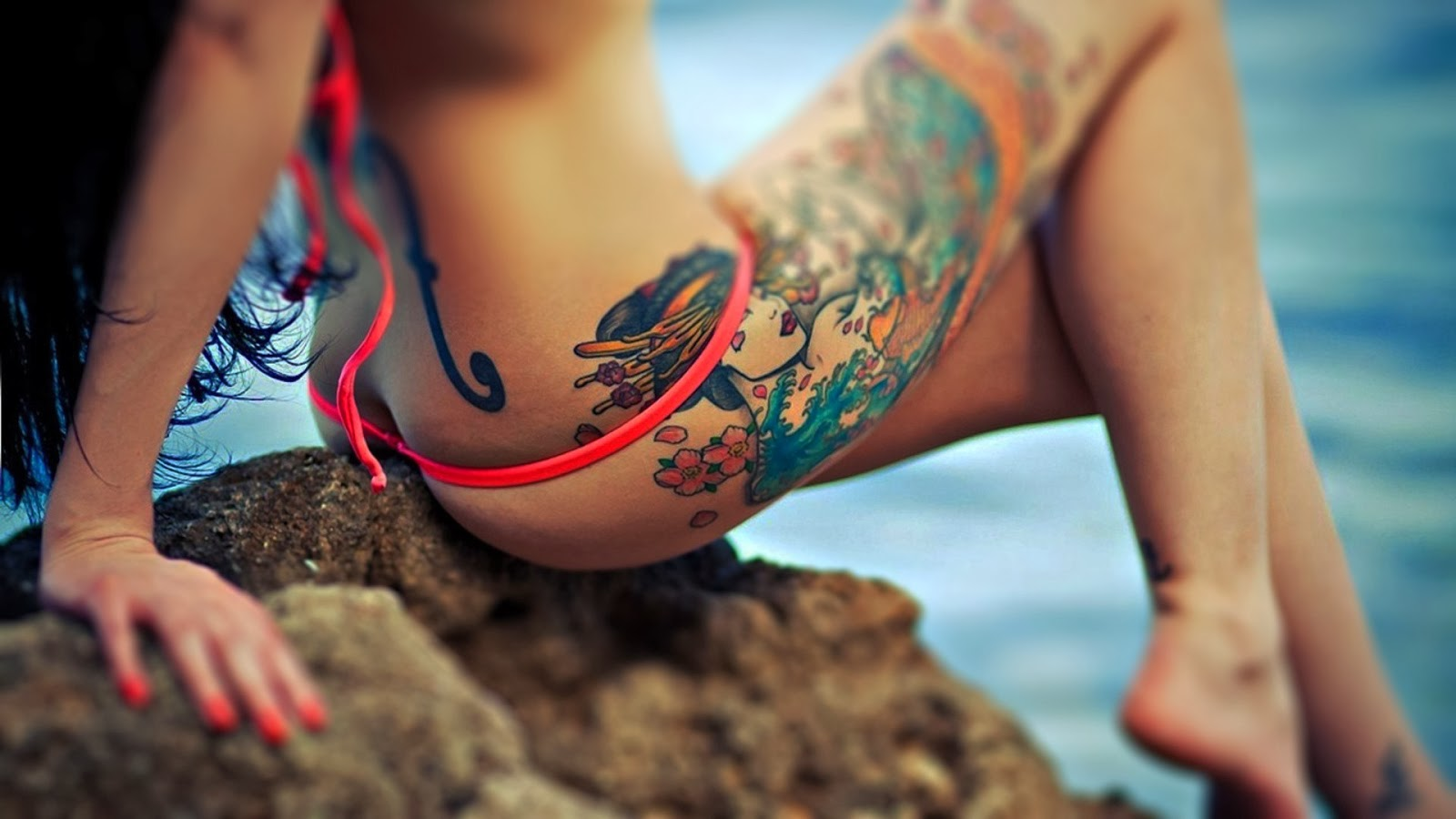 Tattoo girl wallpaper 24 voltagebd Image collections